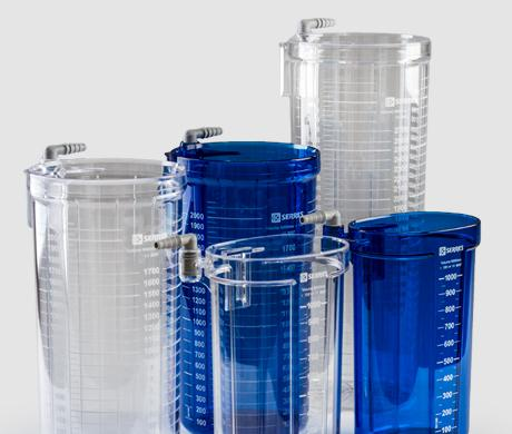 Serres suction canister range