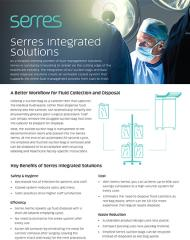 Serres fluid management for surgical suction