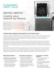 Serres Nemo fluid disposal for Serres Suction Bags