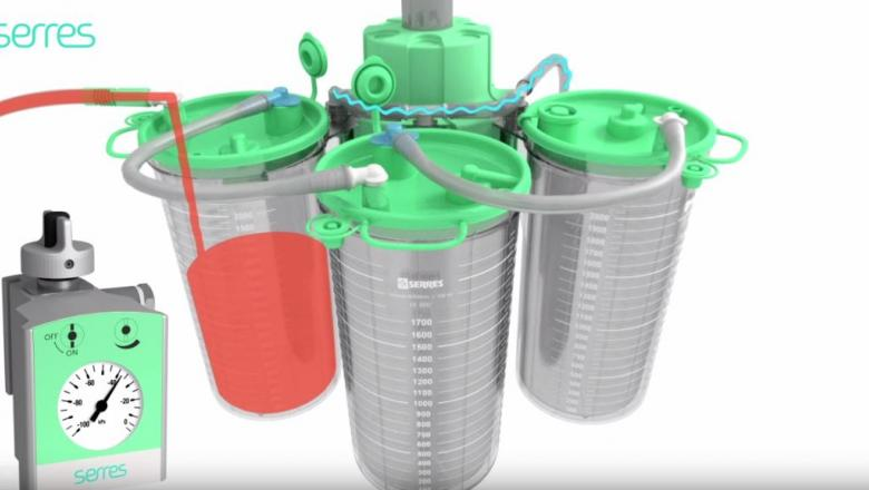 Serres-suction-bag-system-consists-of-reusable-canisters-single-use-suction-liners-and-the-widest-range-of-accessories
